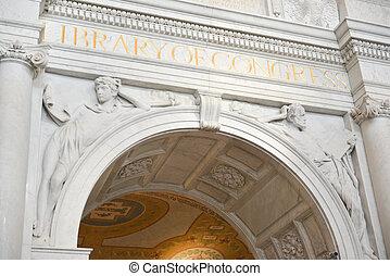 国会図書館, -, ワシントン, dc