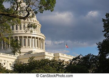 国会議事堂のドーム, washington d.c.
