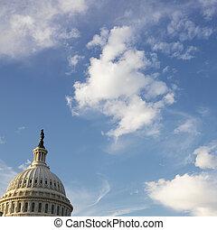国会議事堂の 建物, dome.
