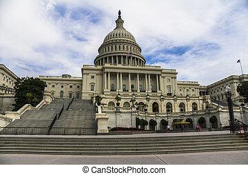 国会議事堂, の, ∥, 私達, 中に, ワシントン