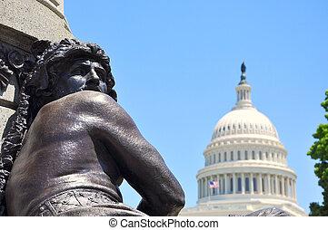 国会議事堂, ワシントン, DC, アメリカ, 私達