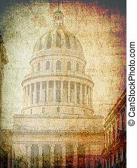 国会議事堂, 中に, ハバナ, キューバ