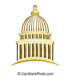国会議事堂, 金, 建物