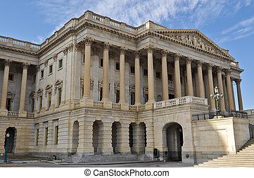 国会, 建物, 中に, washington d.c.