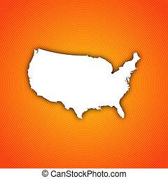 国家, 地图, 联合起来