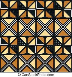 国民, アフリカ, 装飾, ∥で∥, 三角, 要素