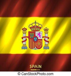 国民, スペインの旗, 背景