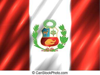 国民, ペルー 旗, 背景
