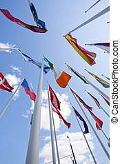 国民, 旗, の, 別, 国