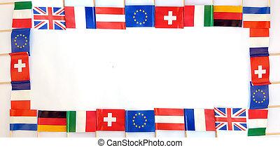国民, 旗, の, 別, 国, フレーム