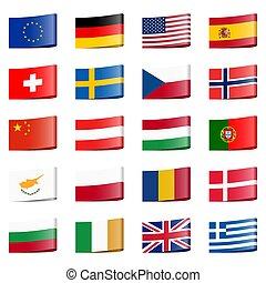 国民, 旗, コレクション, 国