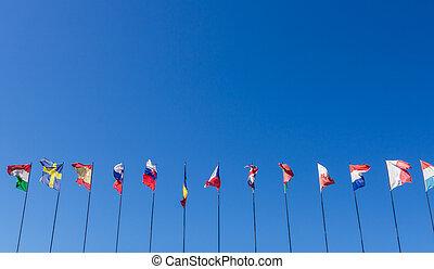 国民, 旗