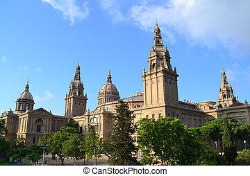 国民, 美術館, バルセロナ