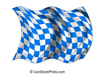 国民, bavaria, 旗