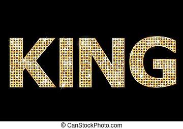 国王, 金子, 正文