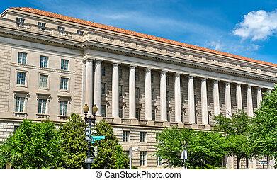 国税庁の建物, 中に, washington d.c., アメリカ
