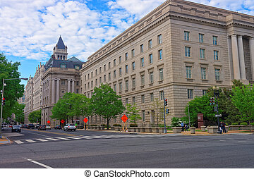 国税庁の建物, 中に, washington d.c.