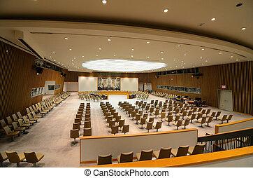 国際連合の 安全保障理事会, 部屋
