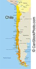国, チリ