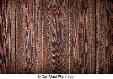国, 木製のテーブル