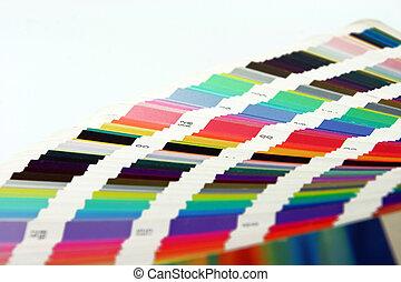 图表的艺术, 颜色