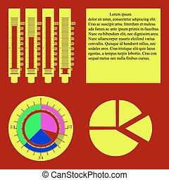 图表, 图表, 馅饼, infographic, 规模