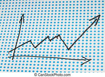 图表, 图, 股票