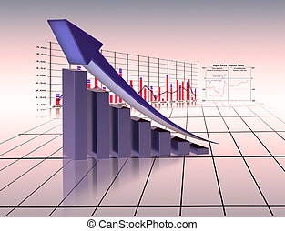 图表, 经济