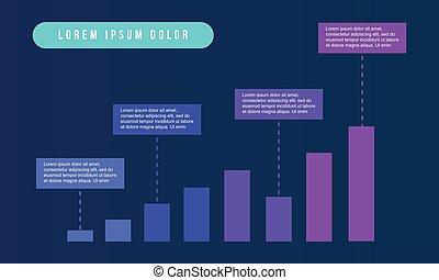 图表, infographic, 设计, 商业