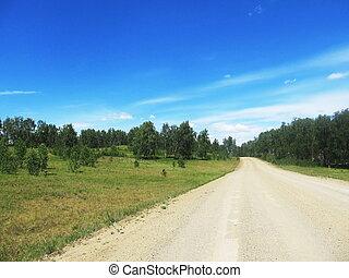 國家道路, 夏天