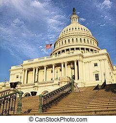 國會大廈大樓, 華盛頓, dc.