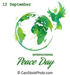 國際, 天, ......的, 和平