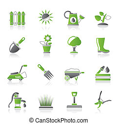 園藝, 對象, 工具, 圖象