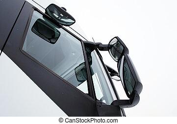 圖像, 卡車, 鏡子