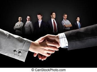 圖像, 握手, 事務