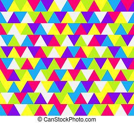 圖案, 三角形, 馬賽克