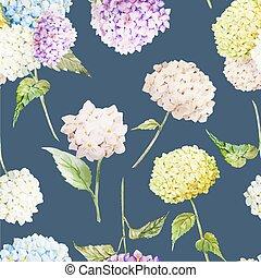 圖案, 八仙花屬