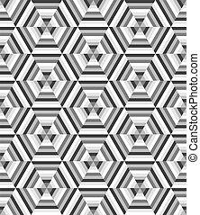 圖案, 六角形