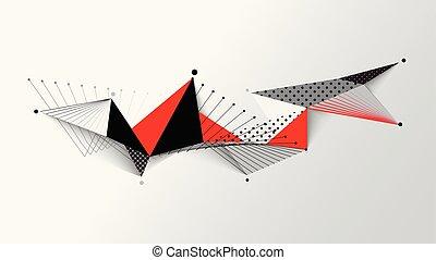 圖案, 幾何學, 摘要, 背景