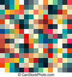 圖案, 摘要, seamless, 設計, retro, 幾何學, 你