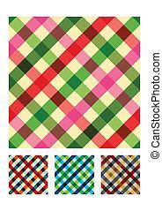 圖案, 桌布, 結構, 多种顏色