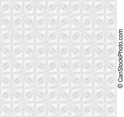 圖案, 白色