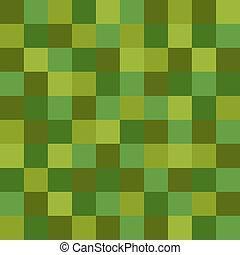 圖案, 綠色, 馬賽克