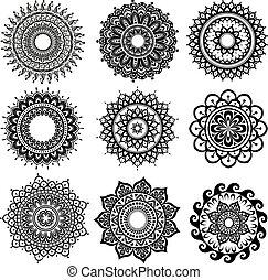 圖案, 裝飾品, 輪