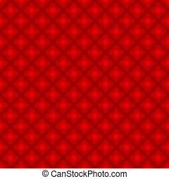 圖案, 鑽石, 背景, 重覆, 紅色