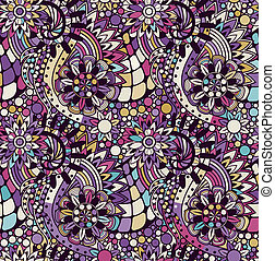 圖案, seamless, zentangle