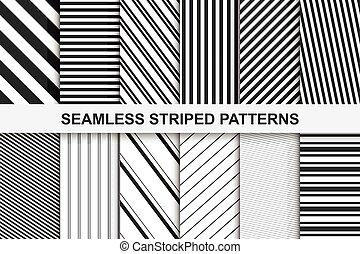 圖樣, 有條紋,  seamless, 彙整