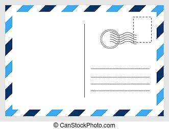 圖表, 空白, 明信片, 卡片, 背景。, 被隔离, 設計, 旅行, 現代