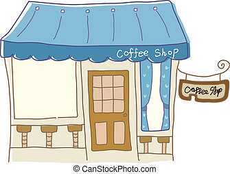 圖象, 咖啡館