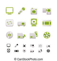 圖象, 媒介, 設備